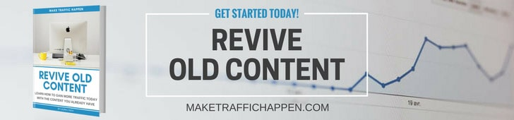 Revive Old Content ebook