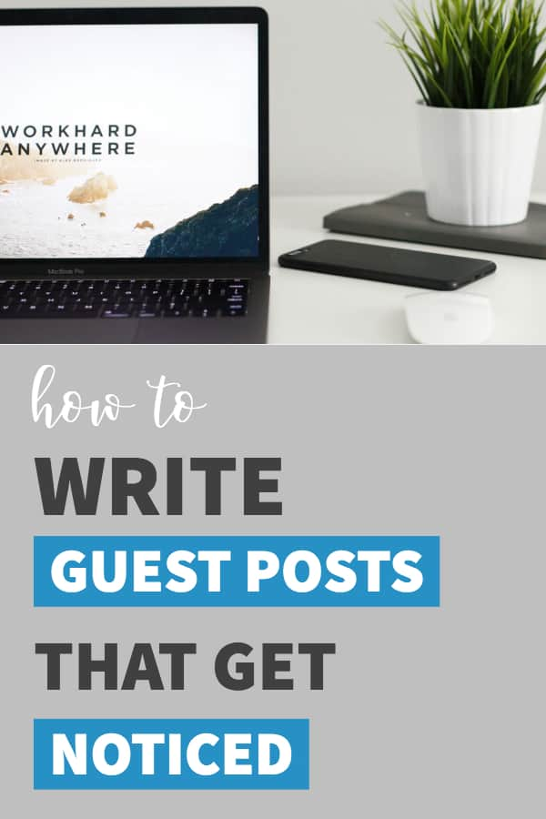 How to write guest post pitches to help build backlinks to your website. SEO backlinks.