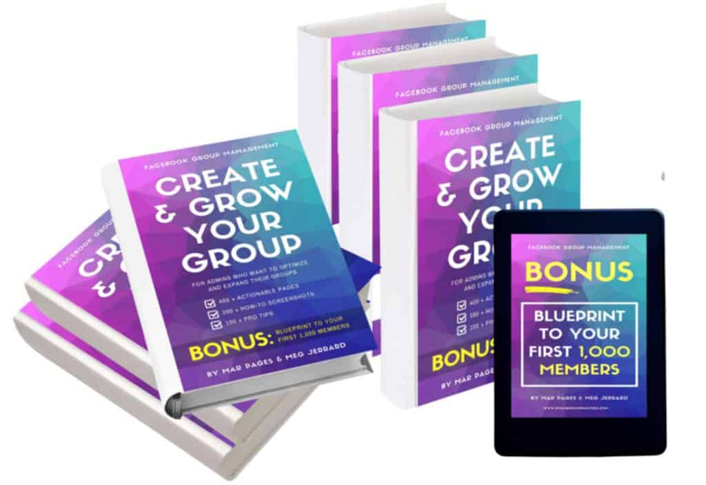 Create and Grow Your Group Facebook Group Ebook