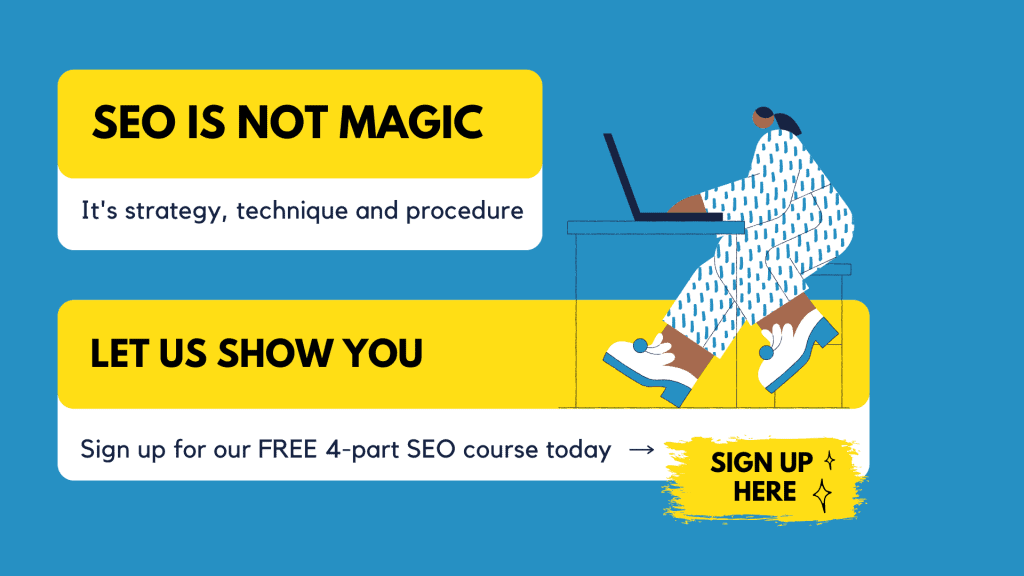 4-Part SEO Course Article Call Outs