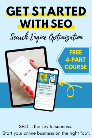 Free SEO Course Sign Up Form